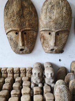 Masque bois Bali